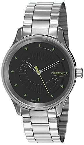 Fastrack Tropical Fruits Analog Black Dial Women's Watch 6203SM02/NN6203SM02