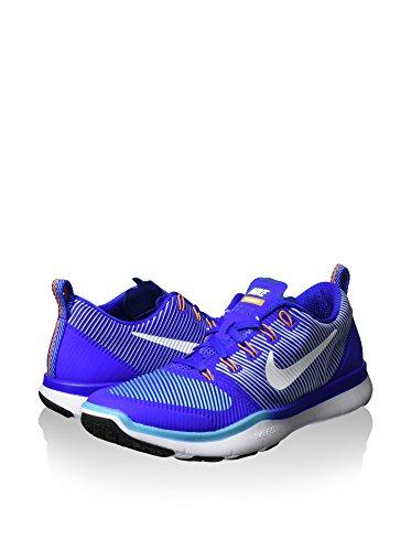 Hombre Azul Versatility 41 blanco Zapatillas Free Train Nike Eaxwq6IXna