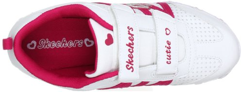 Skechers BikersMain Squeeze 82688L Mädchen Sneaker Weiß (WRD)