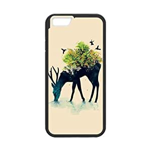 Alison Marvin Feil's Shop Deer Hardshell Cell Phone Cover Case for New iPhone 6 5960335M12101244