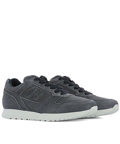 Hogan Sneakers Uomo HXM3210Y120LNDU806 Pelle Blu