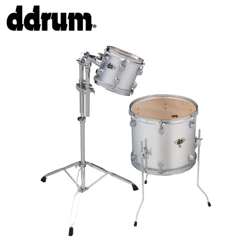 ddrum JF-D2-BS-AD1-KIT-1 Brushed D2 Beginner Add-On Pack Drum Kit with 7 x (12 X 14 Floor Tom)
