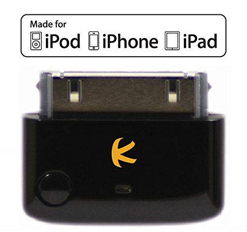 KOKKIA i10 Multi-Stream Tiny Bluetooth Transmitter for iPod/iPhone/iPad/iTouch i10_black