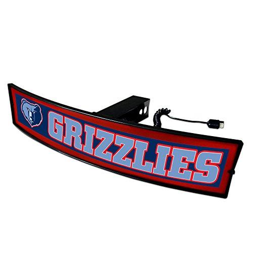 CC Sports Decor NBA - Memphis Grizzlies Light Up Hitch Cover - 21''x9.5'' by CC Sports Decor