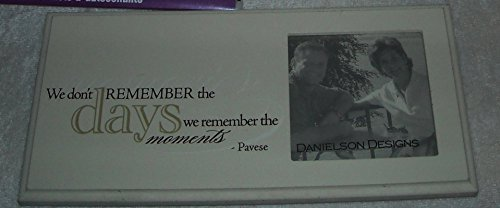 Danielson Designs - Remember the Days - Wood Frame with Small Frame ()