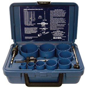 13PC BLU-MOL HOLE SAW SET by Blu-Mol