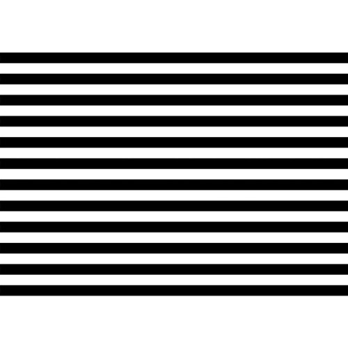 7x5 Horizontal Black and White Stripes Backdrop for Photography Digital Printed Photo Background Kids Customized Baby Birthday Party Banner by VV Backdrop