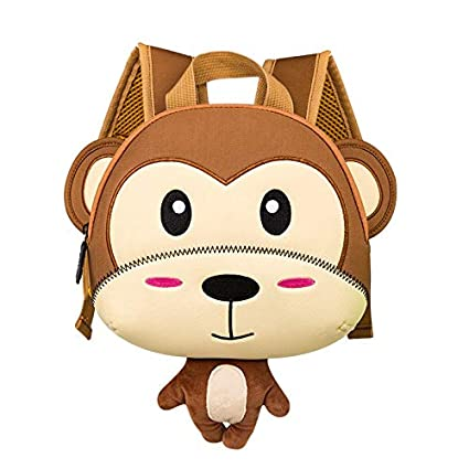 Amazon.com: New Lovely Animal Childrens Backpack Anti-Lost Rope Plush Girl Boy Mini Bag Mochila Infantil Sac Enfant Kids Backpacks: Kitchen & Dining