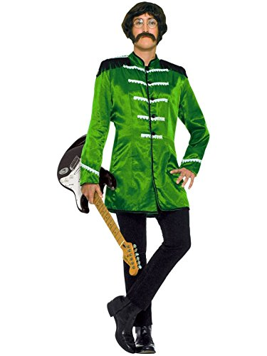 Forum Novelties Men's 60's Revolution Mod British Explosion, Green, One Size