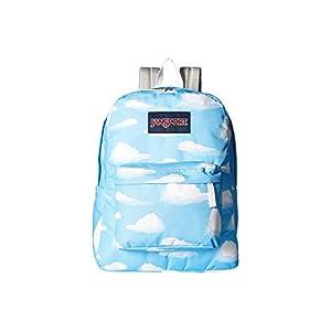 JanSport Unisex SuperBreak Partly Cloudy Backpack
