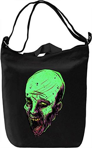 Neon zombie Borsa Giornaliera Canvas Canvas Day Bag| 100% Premium Cotton Canvas| DTG Printing|