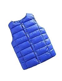 zhxinashu Children Waistcoat Sleeveless Unisex Windproof Vest