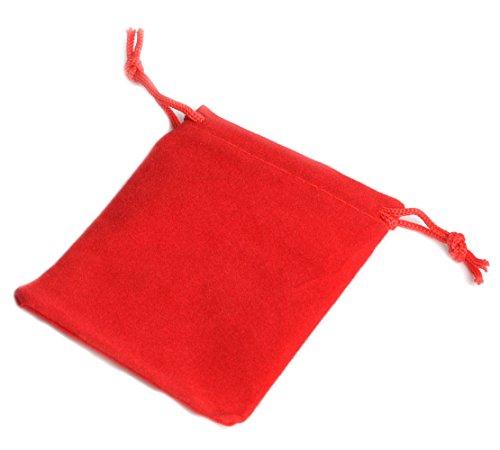 """VELVET BAGS 4"""" x 3.5"""" plush party favor wedding gift jewelr"""