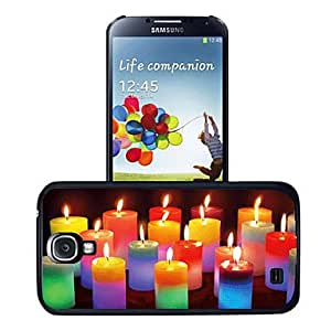 Zaki-Colorful Candle 3D Effect Plastic Case for Samsung Galaxy S4 I9500
