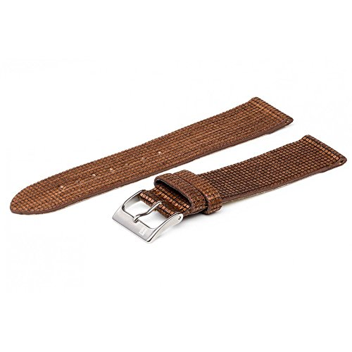 ColaReb 18mm Brown Vegan Wood Fiber Watch Strap