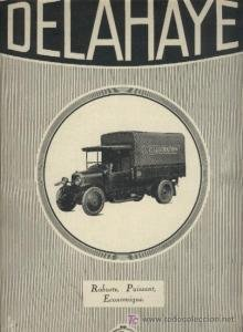 1926-delahaye-vehicule-industriel-camionette-huge-vintage-non-color-ad-french-lillustration