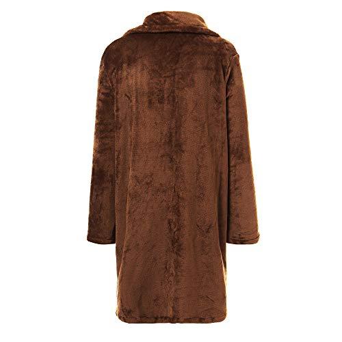 Donna Invernale Solido Lunghi Casual Soprabito Per Giacca Outercoat Cappotti Morwind Giubbotto Parka Piumini Inverno Cappotto Caldo Outwear Khaki 5A7qwfwE