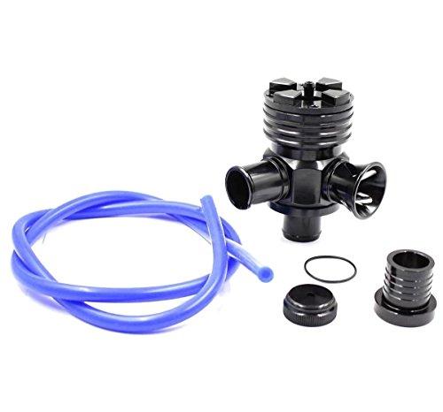 Rfl Plug (JahyShow 25mm 3 in 1 bov aluminum dump valve For VW Volkswagen Passat beetle Bora Golf Audi Jetta A3 A4 A6 TT 1.8T BOV BLOW OFF VALVE)