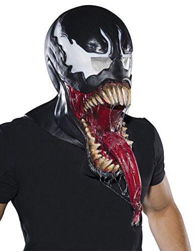 Venom Spider Man Adult Size Full Overhead Latex Costume Mask Marvel -