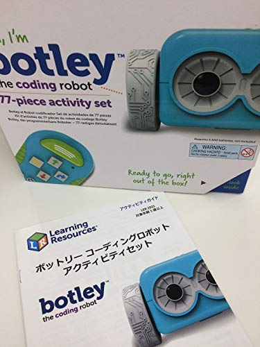 Learning Resources Botley the Coding Robot Activity Set (77Piece), Multicolor