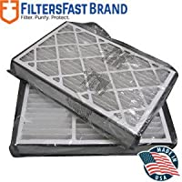 FiltersFast Compatible Replacement for White Rodgers Furnace Filter F825-0548 16 x 26 x 5 (Actual Size: 16 1/8 x 25 3/4 x 4 7/8) 2-Pack MERV 8