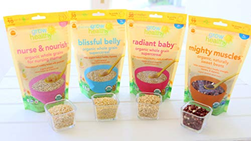 Blissful Belly Organic - Supercereal de grano entero ayuda a ...