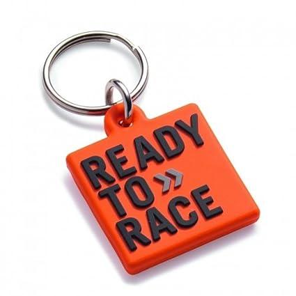 Orange KTM Logo Keychain