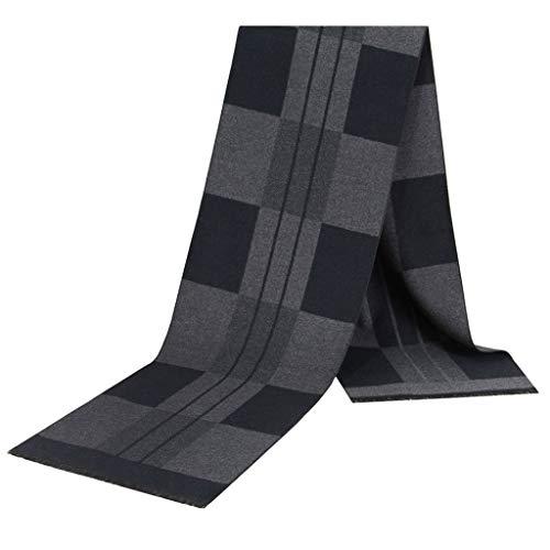 改善する同性愛者お気に入りスカーフウォームデコレーションメンズファッションコントラストカラー、ソフトテクスチャラティスジャカードスカーフ (色 : Fancy 2)