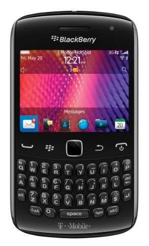 BlackBerry Curve 9360, Black (T-Mobile) T-mobile Color Pda