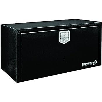 Amazon.com: Buyers Products Black Steel Underbody Truck Box w/ T-Handle Latch (14x16x24 Inch