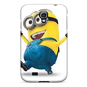 Samsung Galaxy S4 LOy9388EHFM Allow Personal Design Attractive Minion Skin Protector Hard Phone Cases -CristinaKlengenberg