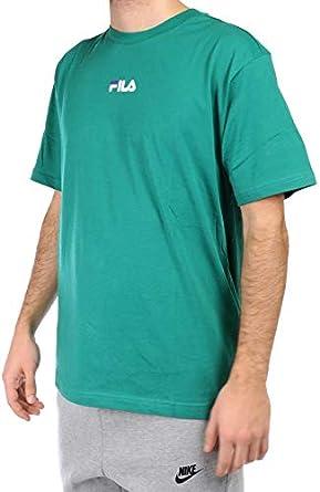FILA 687484 Camiseta de manga corta para hombre, color verde Verde L: Amazon.es: Ropa y accesorios