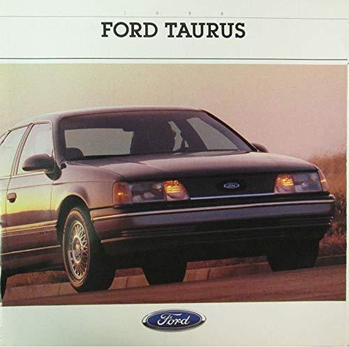 - 1988 FORD TAURUS PRESTIGE VINTAGE COLOR SALES BROCHURE - 008 8/87 - USA - GREAT ORIGINAL !!