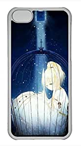 iPhone 5c case, Cute Girls In Cage iPhone 5c Cover, iPhone 5c Cases, Hard Clear iPhone 5c Covers