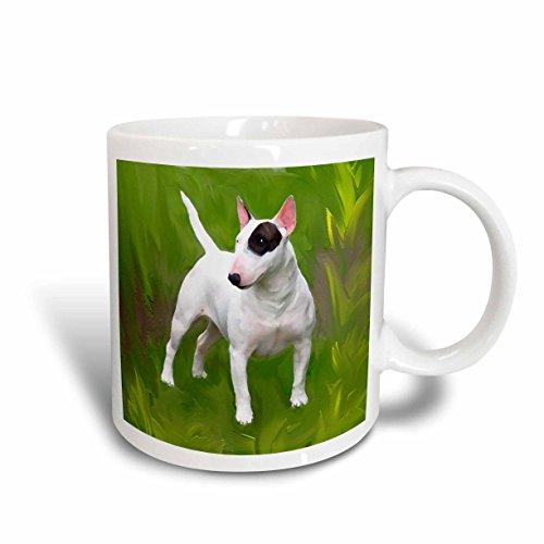 Bull Terrier Mug (3dRose Bull Terrier Mug, 15-Ounce)