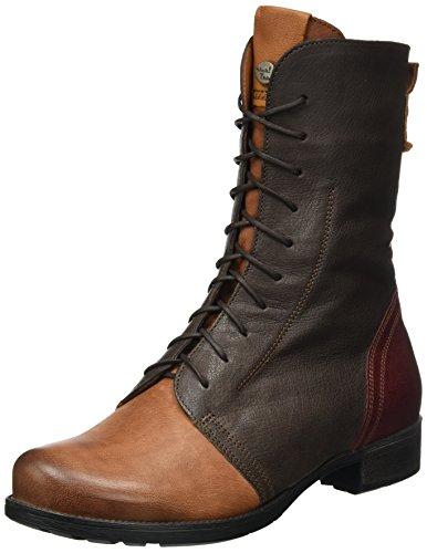 46 Denk Donna Kombi Desert Schoko Think Boots Stivali Marrone OpBTxxw8q