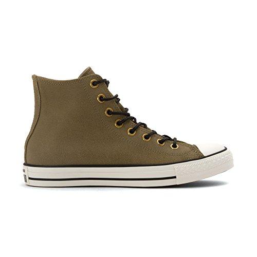Converse Mens Chuck Taylor All Star Leather & Corduroy High Top Jute/Egret/Black 11.5 M VLzcld