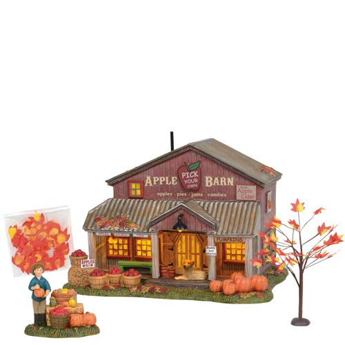 Department 56 Snow Village Halloween Apple Barn by Department 56