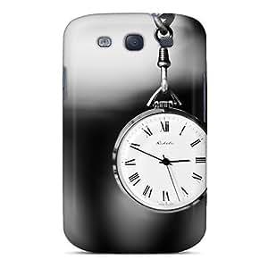 Excellent Design Pocket Watch Phone Case For Galaxy S3 Premium Tpu Case