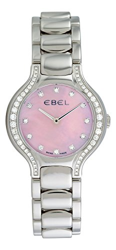 Ebel Women's 9256N28/971050 Beluga Mother-Of-Pearl Pink Diamond Dial Watch