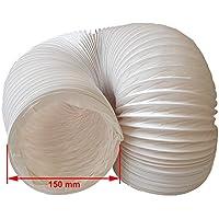DANIPLUS Canalizado Manguera pvc flexible 150mm de diámetro
