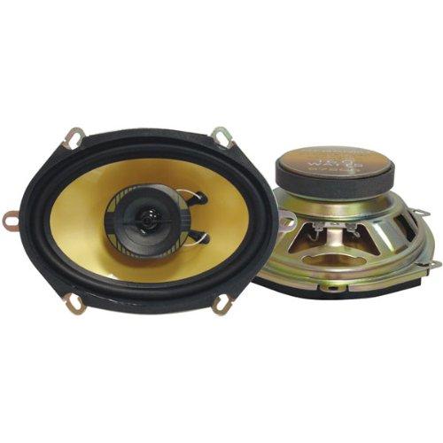 Pyramid 578GS 5-Inch x 7-Inch /6-Inch x 8-Inch 200 Watts ThreeWay Speakers - 18 Sound Speaker 8 Inch