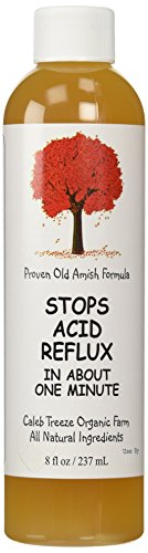 Stops Acid Reflux (8 oz) by Caleb Treeze: Old Amish Formula