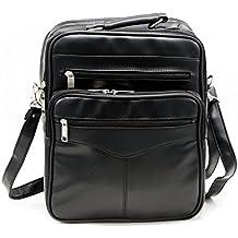 Goson PU Leather Cross Body Messenger Bag Shoulder Laptop iPad Briefcase