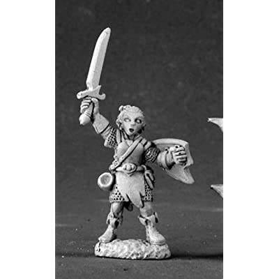 Reaper Miniatures Elliwyn Heatherlark, Gnome Bard #03441 Dark Heaven Legends: Toys & Games