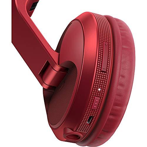 PIONEER DJ BLUETOOTH HEADPHONES RED