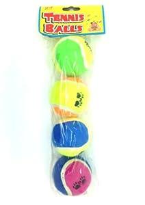 Haustiere spielen Tennis Balls - 4-Pack