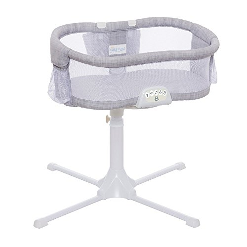 HALO Bassinest Swivel Sleeper Luxe Plus Series Bassinet, Grey Melange
