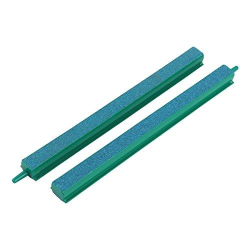- Jardin Fish Tank Air Bubble 2-Piece Air Stone Bars, 8-Inch, Green/Blue