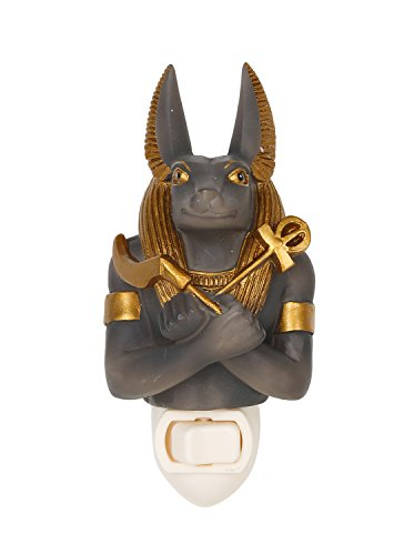Ancient Egyptian Anubis God of The Underworld Decorative Wall Night Light